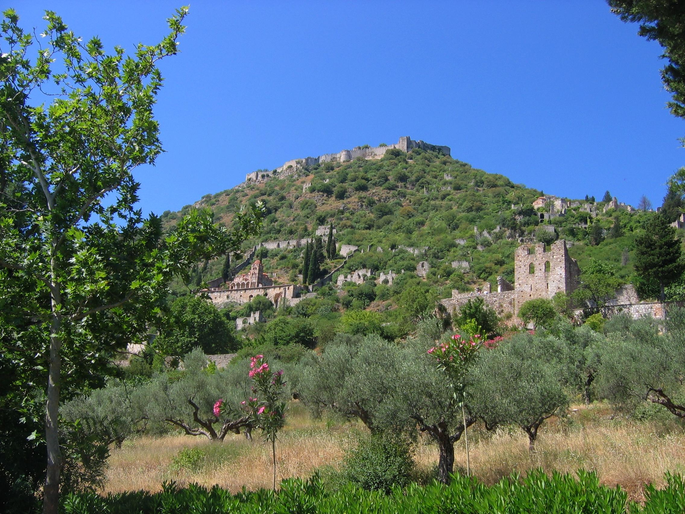 Mystra et ses églises byzantines