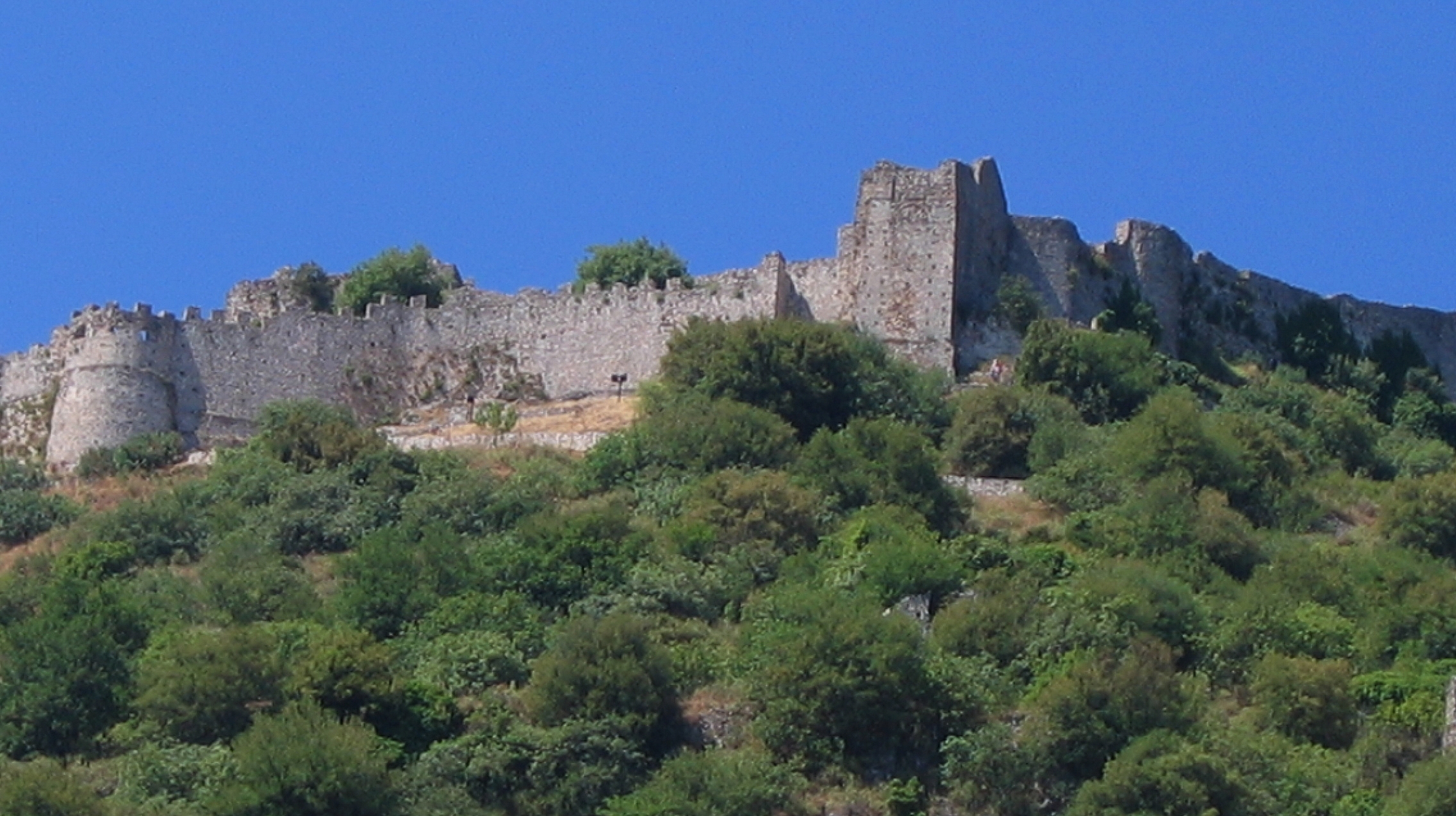 Mystra, la forteresse