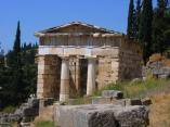 Delphes,le trésor des Athéniens