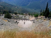 Delphes, le théâtre